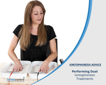 Performing Dual Iontophoresis Treatments