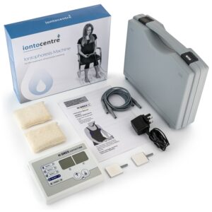 Hidrex ConnectION iontophoresis for underarms sweating