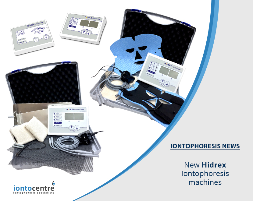 New Hidrex Iontophoresis Machines launched