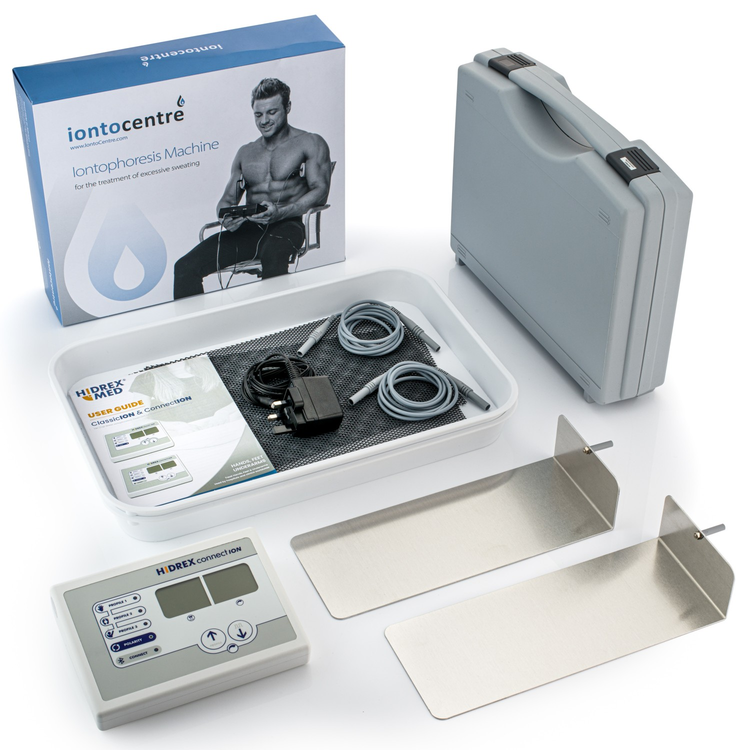Hidrex ConnectION hands and feet iontophoresis