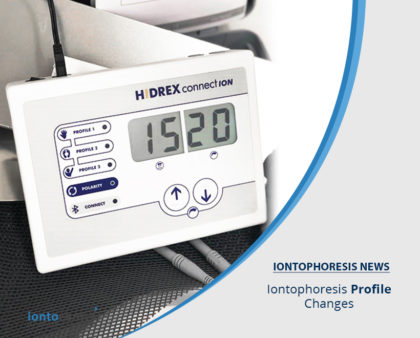 Iontophoresis Profile Changes