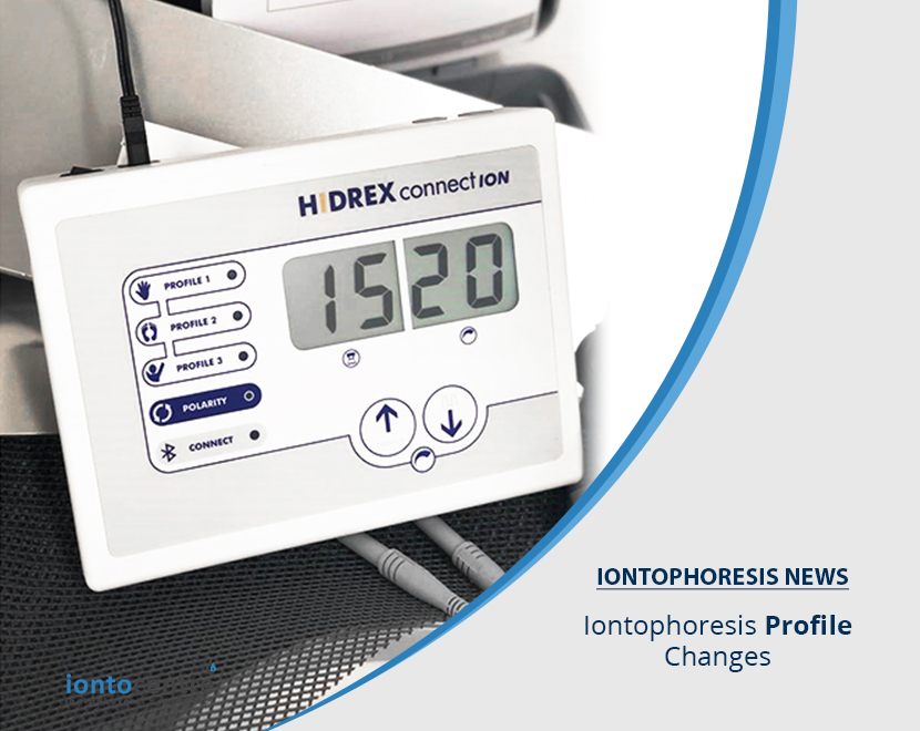 Iontophoresis Profile Changes